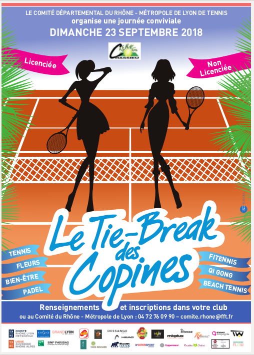 Affiche TIE-BREAK des copines